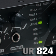UR-824: Professional recording audio interface