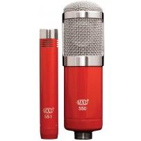 MXL 550/551 | Kit com 2 Microfones Condensadores