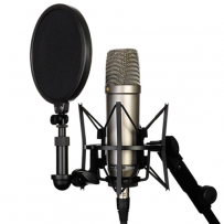 NT1-A - Shock Mount e Pop Filter Inclusos