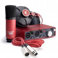 Focusrite Scarlett Sudio | Kit completo para gravação