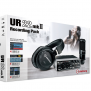 UR22 mkII Recording Pack | Pacote de gravação profissional